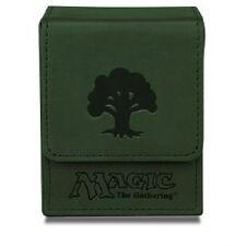 ULTRA PRO MTG MANA GREEN MATTE FLIP DECK BOX - 86110 - NEW