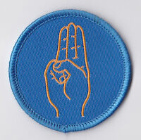 GIRL GUIDES (SCOUTS) OF HONG KONG - HK GIRL GUIDES (GG) SALUTE Patch