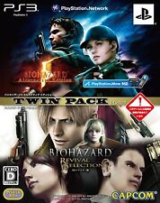 PS3 Biohazard 5 AE & Revival Selection HD Twin Pack Japan PlayStation 3 F/S
