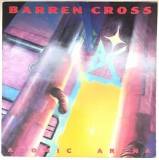 BARREN CROSS ATOMIC ARENA LP MUSIC FOR NATIONS UK 1988 EX+ VINYL FAST DISPATCH