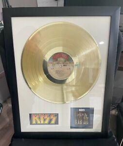 KISS Dressed to Kill GOLD Record