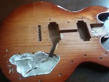 Peavey T-60 Ice tea Burst Guitar Body