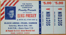 ♫ ELVIS PRESLEY 1956 - 1961 Repo Concert Tickets 7 different tickets ♫