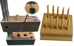 ~Combo Offer-Dop Jig Transfer,10 pc Brass Dop Stick~
