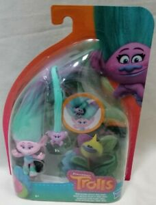 TROLLS - *New & Sealed* Trolls Hair Raising Satin & Troll Baby Figure Dreamworks