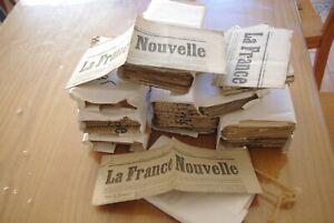 Lot 215 Journaux anciens LA FRANCE NOUVELLE