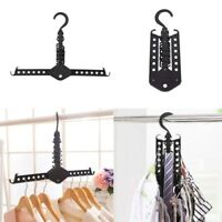 Multi function Magic clothes hanger hook rack wardrobe space saving folding #HD3