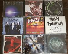 Metal 16 CD Bulk Lot SAXON IRON MAIDEN EDGUY ALICE COOPER MORBID ANGEL