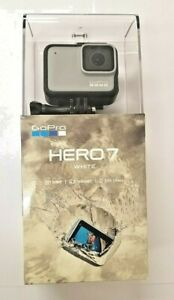 NEW GoPro HERO7 Action Camera 10MP 1080p/60fps Waterproof w/ Touchscreen - White
