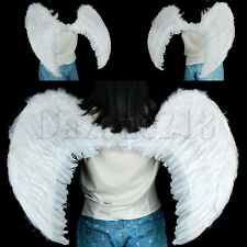 EXTRA LARGE White Feather Angel Wings Photo Props adult  Women Men Costume