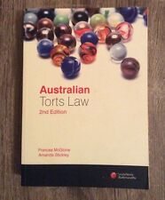 Australian Torts Law 2nd Edition by Frances McGlone and Amanda Stickley