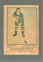 1951-52 Parkhurst Gus Mortson Toronto Maple Leafs #73 Rookie Card VG-EX