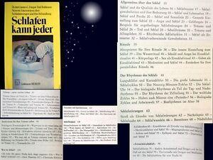 """""""Schlafen kann jeder""""sehr hilfreiches!+äußerst lesenswertes+umfassendes Fachbuch"""