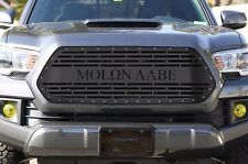 Custom Steel Aftermarket Grille 2016-17 Toyota Tacoma TRD Grill MOLON LABE Black