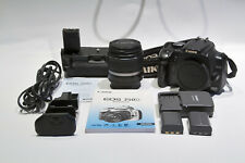 CAMARA DIGITAL REFLEX CANON EOS 350D + Lente EF-S 18-55mm 1:3.5-5.6 II CAMERA