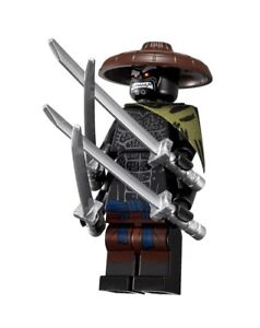 Lego minifigure njo310 Ninjago Jungle Garmadon from set  70608 70617 +