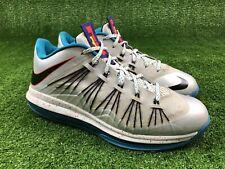 Nike Air Max Lebron 10 X Low Akron Aeros Tropical Teal Men Size 9 OG 579765 002