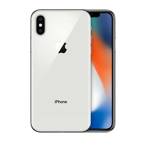 Apple iPhone X 64GB White GSM AT&T, T-Mobile, Metro, Unlocked