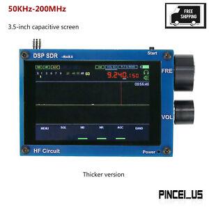 "Blue 3.5"" 50KHz-200MHz Malachite DSP Software Defined Radio Malahit SDR Receiver"