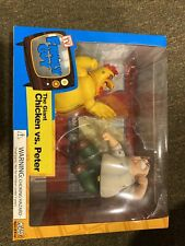 Family Guy Mezco Limited Peter Vs. Chicken New Cartoon 2 Pack Action Figures