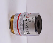 Nikon M Plan 5x DIC Metallurgical Microscope Objective - 210 TL