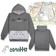 My Neighbor Totoro Gray Hoodie Sweatshirt Jacket Coat Unisex Cosplay Costume