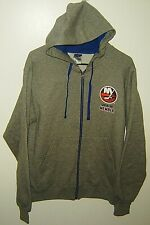 2018-19 MEMBER NEW YORK ISLANDERS NHL HOCKEY FULL ZIP HOODIE JACKET SZ S JERZEES