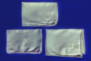 New Rolex Service Polishing Cloths all 3 for one low price!