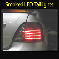 LED Tail Lights Smoked For Toyota Yaris NCP93 2007-2011 Rear Left & Right
