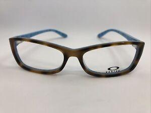 NEW Oakley Short Cut OX1088-0153 Women's Eyeglass Frame 53.15.139 Tortoise Plaid