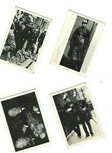 A&BC 4 x GUM TRADE CARDS: WINSTON CHURCHIL L No's 6 12  33  51 1965(c) Mirrorpic