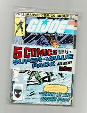 GI JOE A Real American Hero Super Value Pack 2, 6, 8, 11 and 12 Comic Book Lot