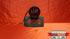 SM7b CAFE RACER SIDE MOUNT NUMBER PLATE BRACKET WITH STOP + TAIL LIGHT IN BLACK