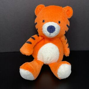 Carters Just One You Plush Orange Tiger Stuffed Baby Rattle 63213 FAST SHIPPING