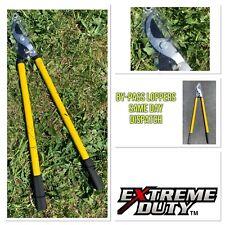 Heavy Duty Garden Tree Branch Cutter Looper Pruner Bypass 21'' Handle