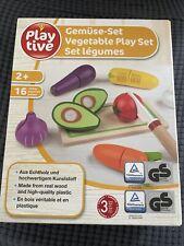Playtive Gemüse-Set aus Holz ab 2+ 16-teilig