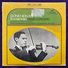 LEONID KOGAN TCHAIKOVSKY Violin Concerto & Meditation LP / Seraphim Stereo EX