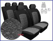 A medida Juego Completo Fundas De Asiento Para Seat Alhambra me 7 asientos 1996 - 2010 (Pc)