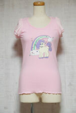 BODY LINE T-shirts Japanese Style Fashion Gyaru Lolita Kawaii Fairy Kei 07