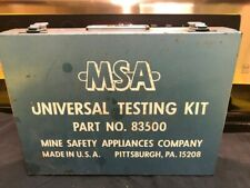 Vintage MSA  83500 Universal Testing Kit Metal Box Only