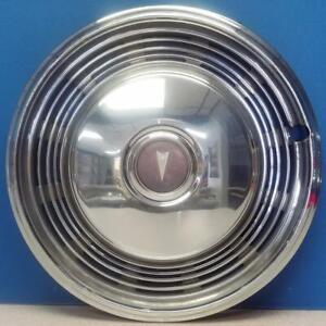 """ONE 1973-1974 Pontiac Grand Prix Lemans Bonneville Catalina # 5032 15"""" Hubcap"""