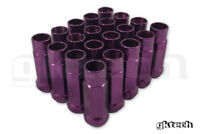 GKTECH Pack of 20 - Purple - M12x1.25 wheel lug nuts - FREE SHIPPING