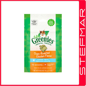 5 x Greenies Cat Feline 60g 60 gms Chicken