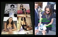Jennifer Tilly signed 8x10 photo proof sexy Bride of Chucky Tiffany hot babe