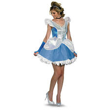 womens adult SEXY CINDERELLA costume medium 8-10 Disney Princess
