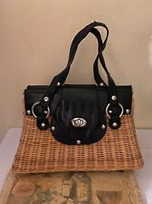 white house black market wicker purse