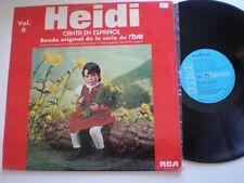 HEIDI Canta En Español  SPAIN LP 1976