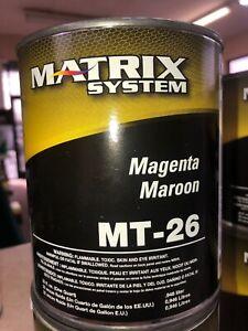 Matrix Toner MT-26 Magenta Maroon 1 Quart New Unopened