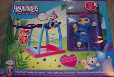 "FINGERLINGS MONKEY BAR PLAY SET INCLUDES EXCLUSIVE BABY ""LIV"" FINGERLING MONKEY"
