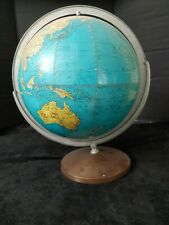 "Vintage 12"" Weber Costello globe HY-PRESS BILT political Made in USA"